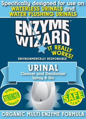 Enzyme Wizard Urinal