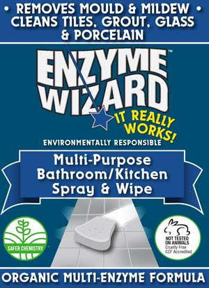 Enzyme Wizard bathroom kitchen